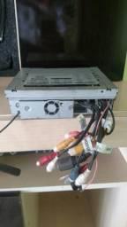 Dvd retrátil H-BUSTER tela de 7 Touch Cd e dvd e saida HDMI