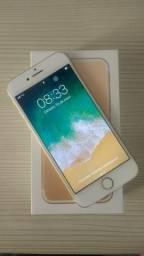 Phone 7 Apple 32GB Ouro na garantia + estendida