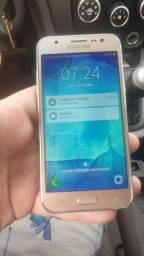 Samsung j5 dourado 16gb