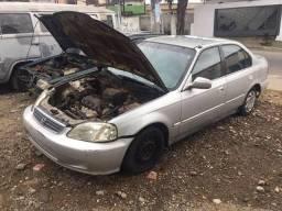 Usado, Peças Honda Civic Lx 99 1.6 16V comprar usado  Belford Roxo