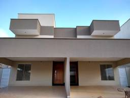 Lindo sobrado em condomínio fechado - 3 suítes plenas - Setor Goiânia 2