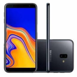 "NOVO - Smartphone Samsung Galaxy J6+ 32GB Dual Chip Tela Infinita 6"" Preto"