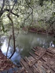 1 alqueire no Rio Monte Alegre