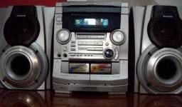 Som Aiwa 3 CD's
