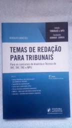 Livro Temas de Redação para Tribunais