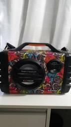 Caixa Mondial Multi Connect Thunder VI MCO-06 com Bluetooth, Entrada USB e Rádio FM