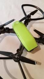 Drone dji spark verde combo fly-more com bateria extra