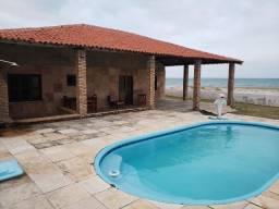 Casa Morro Branco frente total mar, pé na areia - Reveion e Carnaval