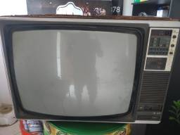 Televisor TV antiga retrô