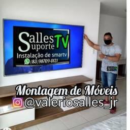 Tv instalação de Suporte TV