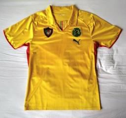 Camisa CAMARÕES Dourada 2009 (M)