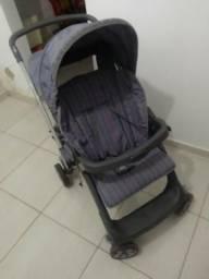 Carrinho de Bebê Burigotto Grafite