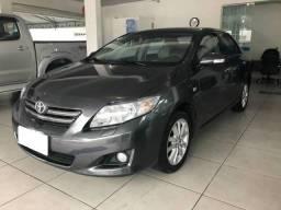 Toyota Corolla seg 1.8 cinza - 2009