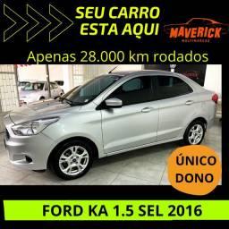 Ford KA SEDAN 1.5 2016 ÚNICO DONO