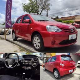 Toyota Etios X ,(com ou sem entrada + saldo em até 60x)