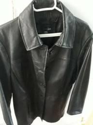 Jaqueta de couro unissex