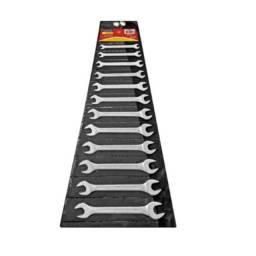 Conjunto de Chave Fixa com 12 peças Tramontina - tamanho 6 ao 22mm