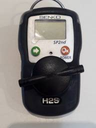 Detector de gás H2S Senko SP 2ND portátil - Sulfeto de hidrogênio