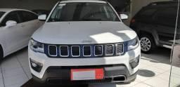 Jeep compass longitude , à diesel, 2020, branco, com 9.000 km