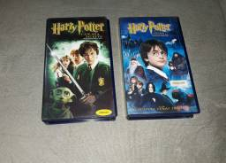 Box VHS Harry Potter anos 1 e 2