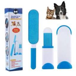 Escova Tira Pelo De Animais Remove Pelos Cães Gatos Magica