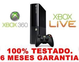 Xbox360 Super Slim 4gb, 6 meses de garantia, AvaliamosTroca, Loja física desde 2004