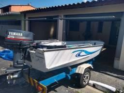 Barco de Aluminio Motor 25HP Yamaha