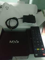 Tv box configurado com 5 meses de uso.