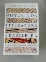 Livro História da Literatura Brasileira de Carlos Nejar