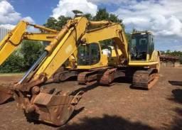 Escavadeira hidráulica com parcelas R$ 2.200