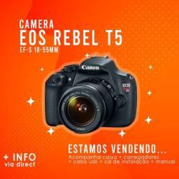 Canon EOS Rebel T5 - EF-S 18-55 III Kit