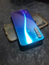 Note 8 semi-novo com caixa