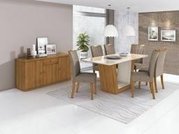 Mesa de Jantar Apogeu - 6 Cadeiras