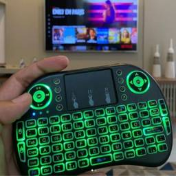 MIni teclado + Mouse touch - Bluetooh para Tv Box e Smart TV