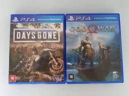 Days Gone e God of War impecáveis!