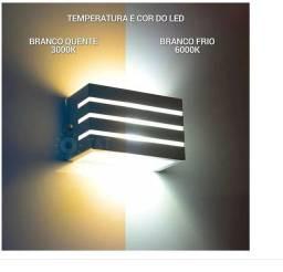 Luminaria arandela frisada externa interna muro parede -c216