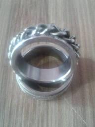 Anel de Aço Inox Polido