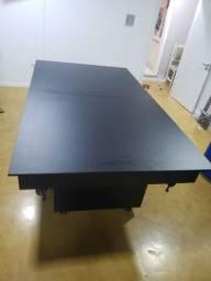 Mesa Sedução e Jantar Cor Preta Tecido Preto Mod. RQOW9401