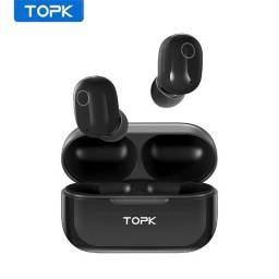 Topk T12 - Fone de Ouvido sem fio Touch Control Via Bluetooth