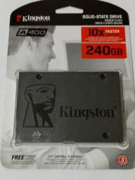 HD Hard disk Kingston ssd A400 240gb Sata 3 530mb/s - novo