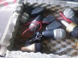 Vendo 7 microfones para bateria e percussão