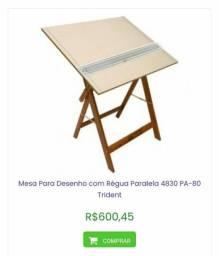 (Foto não carrega) Mesa para desenho técnico e artístico