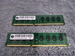 Pente Memórias RAM 2x2/4gb DDR3
