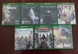Vendo ou troco jogos de Xbox one(de preferência troco 3 desses jogos por Devil may cry 5)