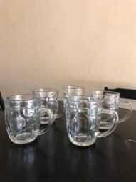 Título do anúncio: Canecas de vidro 500 ml - Chope