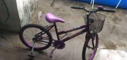 Bicicleta Aro 20,com rodinhas e buzina