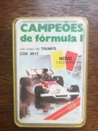 Jogo Trunfo - Campeões de formula 1 - Cod 3017