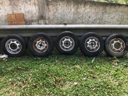 Rodas r13 de ferro original VW