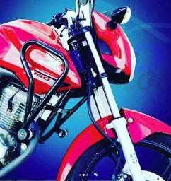 Título do anúncio: Protetor Carenagem Fan Titan Start CG 125 150 160 * Entrega Grátis * 3x no cartão *