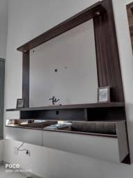 Título do anúncio: Painel tv com espelho e led para tv até 60 polegadas